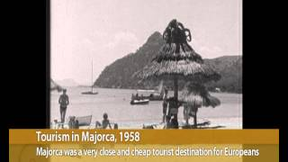 Tourism in Majorca, 1958 | LUX MALLORCA