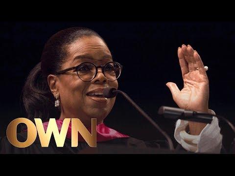 Oprah\'s Inspirational Commencement Speech at USC | Oprah Winfrey Network