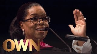 Oprah's Inspirational Commencement Speech at USC | Oprah Winfrey Network thumbnail