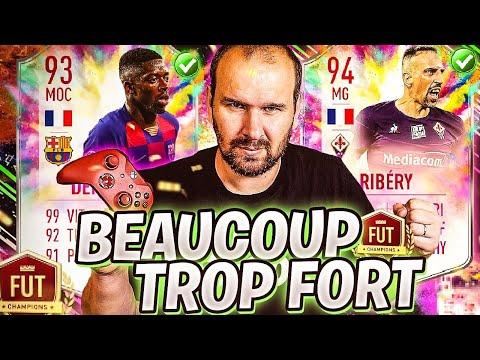 MA TEAM 100% FRANCAISE AVEC RIBERY 94 ET DEMBELE 93 EST TROP FORTE ! FIFA 20