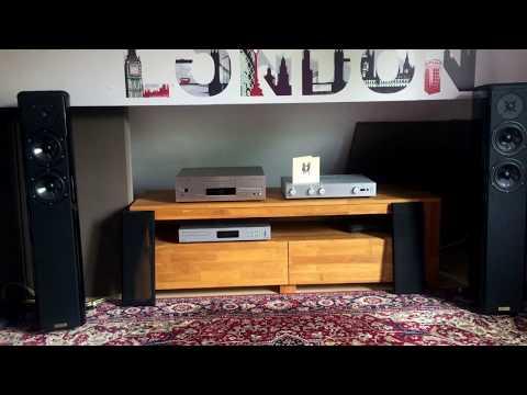 Opera Grand Mezza, Audiolab 8200 A, Audiolab 8000 CD.
