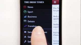 The Irish Times news app