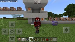 Как сделать плавный лифт в Minecraft Pe без модов