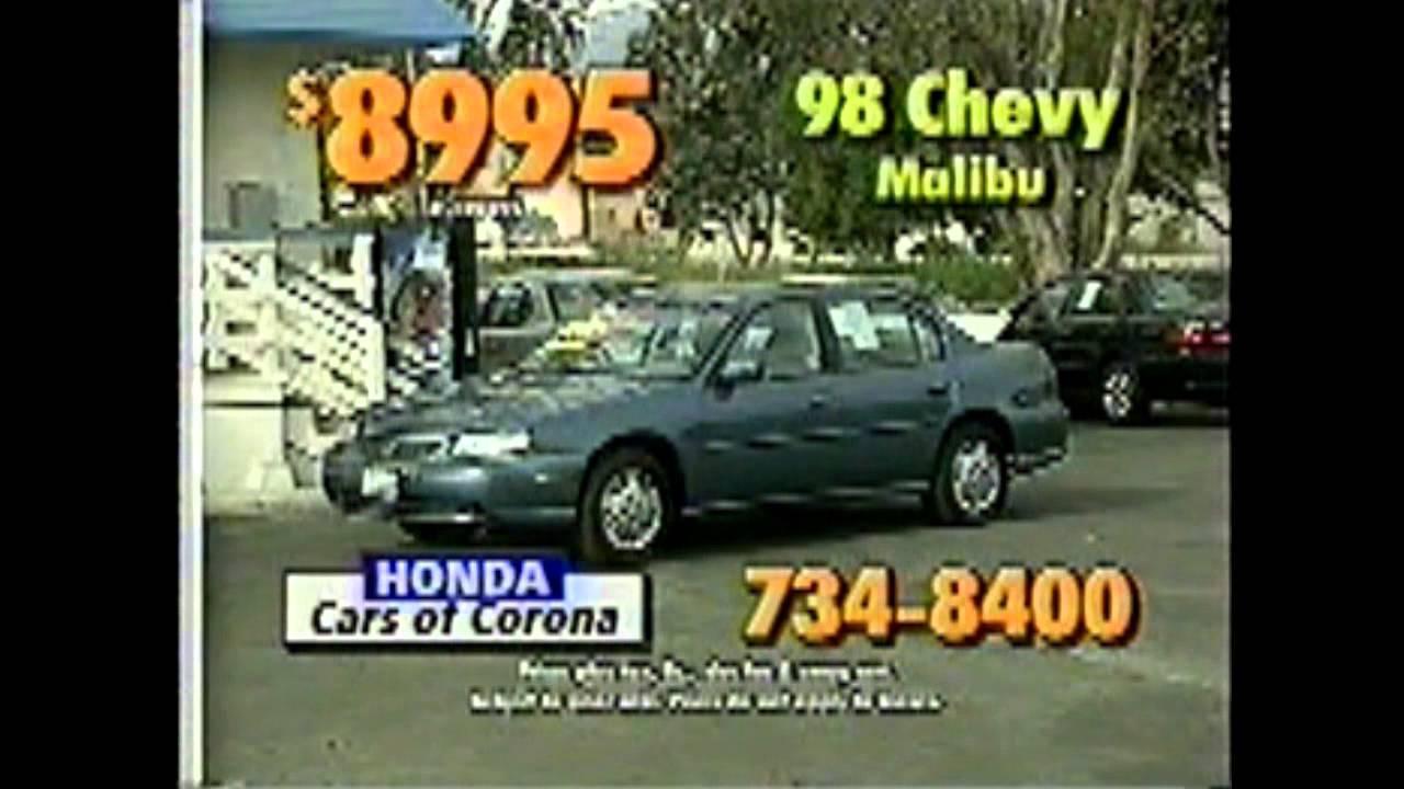 Honda Cars Of Corona >> Honda Cars Of Corona Commercial 7 Youtube