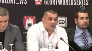 Glory 14 Zagreb - Press Conference 2/3