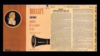 【試聴】【CDR068】 L.ウラッハ(cl)ウィーン・コンツェルトハウスQt. モーツァルト:Cl五重奏