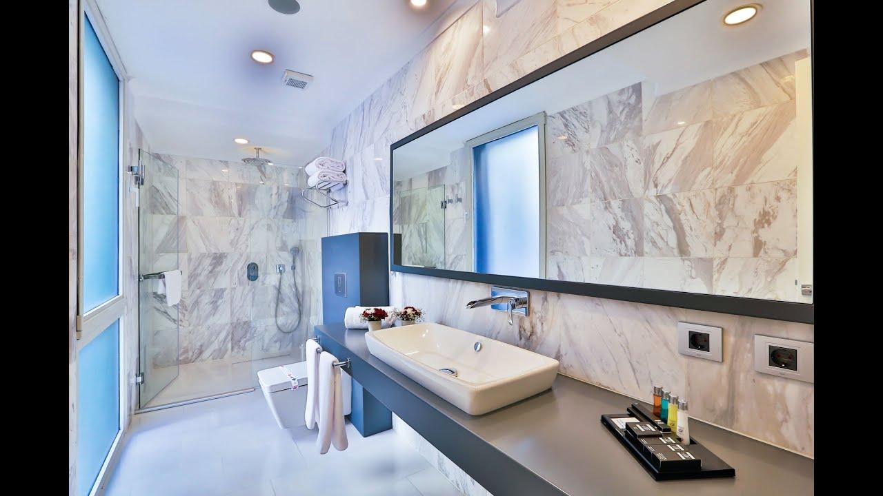 Bianco Carrara White Honed Semi Polished Marble Tiles - YouTube