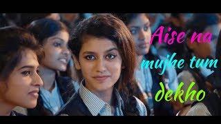 Priya prakash Varrier video | Romantic Whatsapp status | Valentine day special | Viral videos | HD