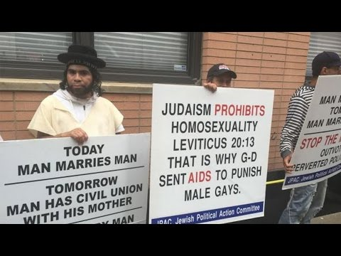 Anti-Gay Orthodox Jews Hire Mexicans To Protest For Them At Gay Pride