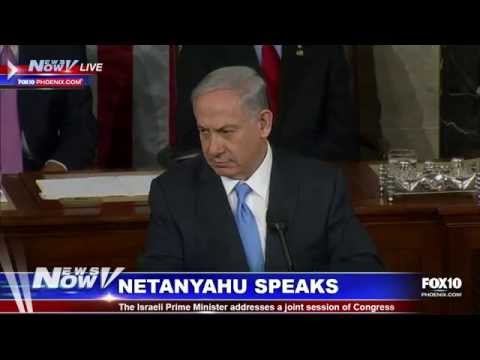 Prime Minister Netanyahu addresses joint session of Congress