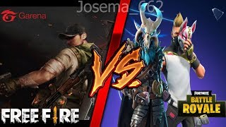 "RAP OF FREE FIRE VS FORTNITE ""LA REVANCHA"" [Josema_662]"