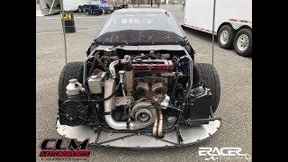 1200 Horsepower CLM Motorsports Hot Rod Civic Debut | ERacer