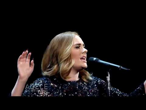 Adele - Water Under The Bridge (Live at The Genting Arena) Birmingham / England