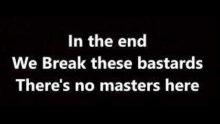 bad wolves - disobey (lyrics) Video
