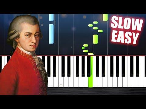 Mozart  Turkish March  EASY Piano Tutorial  PlutaX