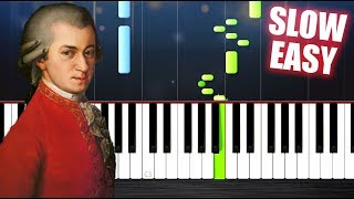 Baixar Mozart - Turkish March - SLOW EASY Piano Tutorial by PlutaX