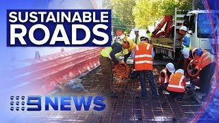 Hopes new 'green' concrete will stand test of time | Nine News Australia