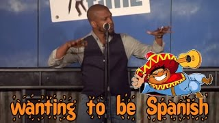 Being Short And Wanting To Be Spanish (stand Up Comedy)