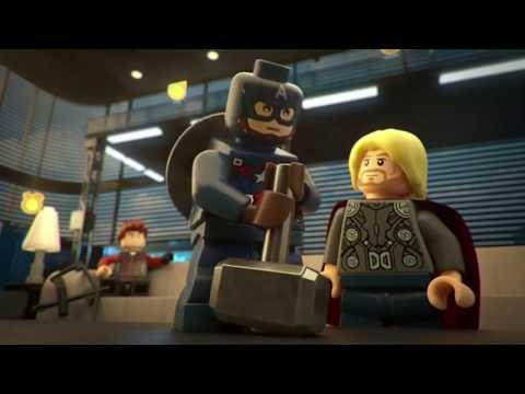 Lego Marvel Superheroes Avengers Age of Ultron Lifting Thors hammer