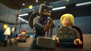 Lifting Thor's hammer | Lego Marvel Superheroes Avengers Age of Ultron