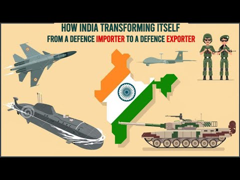 How India Transforming Itself From A Defence Importer To A Defence Exporter