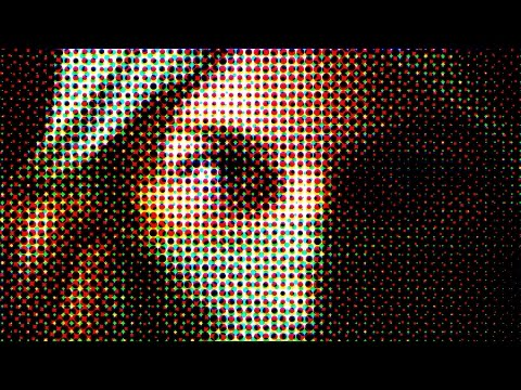 80 Pixelate Filter in adobe Photoshop (color Halftone, Crystalize