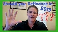 Should I REFINANCE my mortgage in 2019 | Top Central Florida Mtg Broker RAYCE ROBINSON