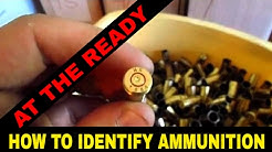 How to identify brass / ammo / headstamps by At The Ready