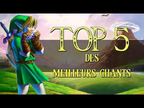 ZELDA - TOP 5 CHANTS