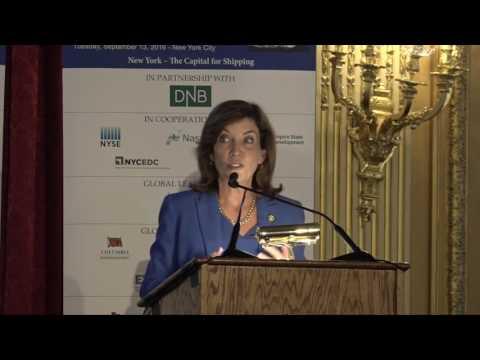 2016 New York Maritime - Luncheon Keynote Address