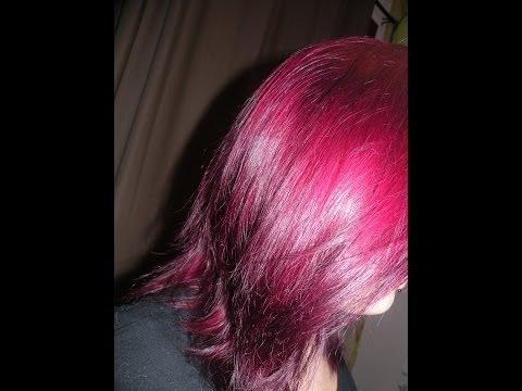 faire une colo magentatechniques et explications pro - Coloration Cheveux Magenta