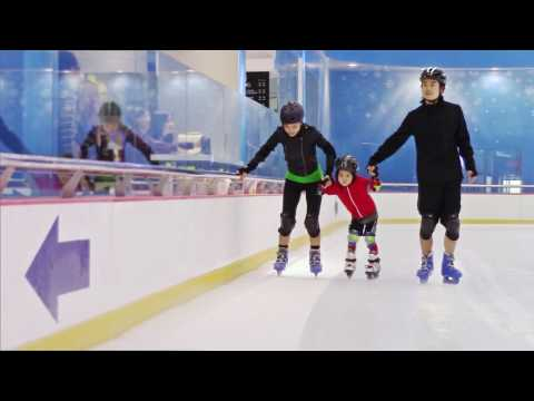 Miyamotos go ice skating