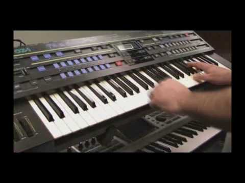 Casio CZ-1 Phase Distortion Synthesizer Preset Patch Demo