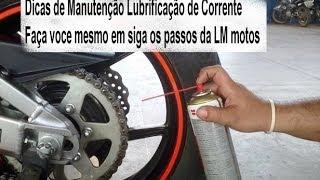 Dicas de Manutenção de moto ( LUBRIFICAÇÃO E DE CORRENTES) com Luciano Medeiros LM motos