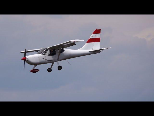 Glastar takeoff and landing