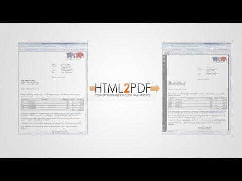 Tutoriel php - générer un pdf