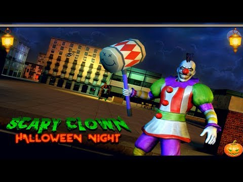 🤡🎃Scary Clown : Halloween Night-Offered By TapSim Game Studio-Android