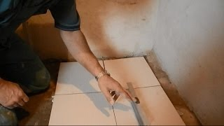 Укладка плитки с уклоном под слив(, 2014-12-10T17:54:08.000Z)