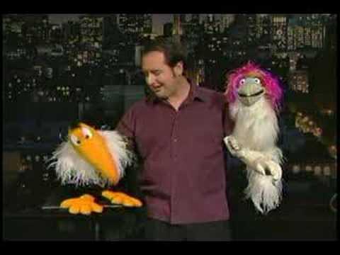 Ventriloquist Kevin Johnson on David Letterman