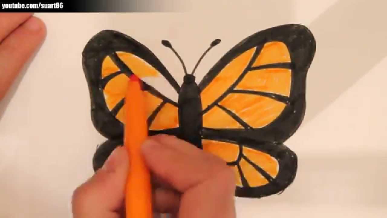 Kako Nacrtati Leptira Youtube