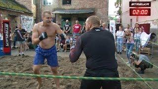 Старый бородач против Огромного мужика !!! Отличный Бой !!