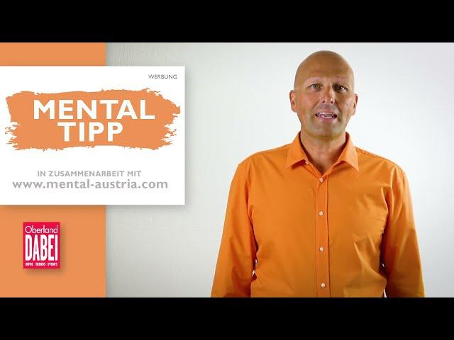 Mental-Tipp Oberland DABEI - 14.07.2021