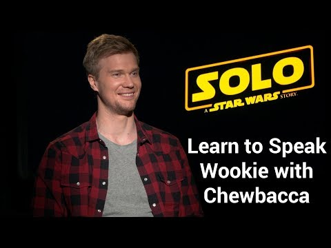 How to Speak Wookiee with Chewbacca Actor Joonas Suotamo