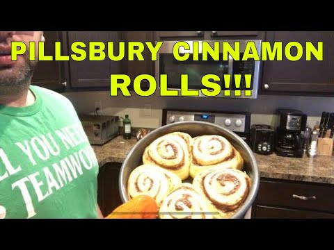 How to bake Pillsbury Cinnamon Rolls
