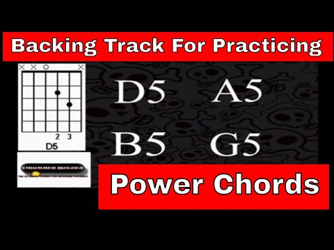 Backing Track For Practicing Power Chords