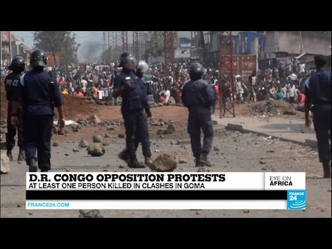Opposition protests in DR Congo: At least one person killed in Goma clashes