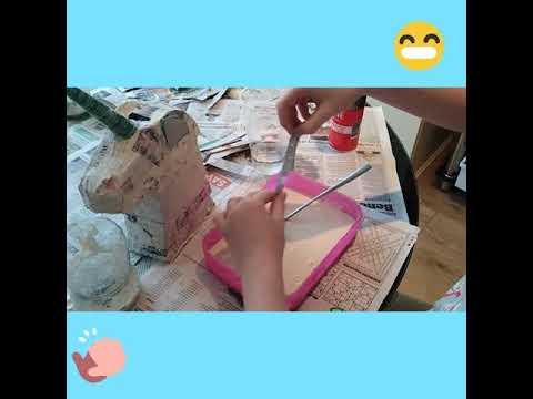 How to make paper Mache  paste ❤️👍