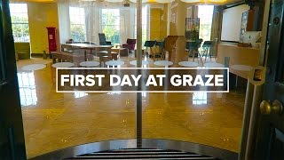 First Day at Graze