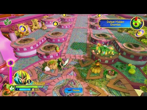 Skylanders: Imaginators Blind Playthrough Part 7 (Life and Magic Sensei Realms)