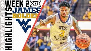 James Bolden | 31 point performance to highlight 2nd week of Big 12 play